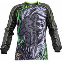 Camisa Goleiro Poker Sublimax Lion