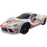 Carrinho De Controle Remoto Sport Racer - 7 Funções - Unissex-Branco
