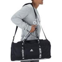 Mala Adidas 4Athlts Duffel M - Preto/Branco
