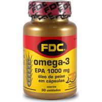 Ômega-3 1000Mg Fdc 30 Cápsulas
