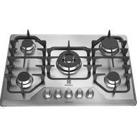 Cooktop 5 Bocas Electrolux A Gás Inox (Gf75X) - Cooktop A Gás 5 Queimadores Inox (Gf75X)