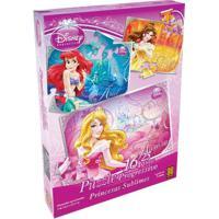 Quebra-Cabeça - Princesas Disney - Princesas Sublimes Progressivo - Grow - Unissex-Incolor