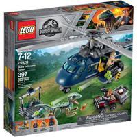 Lego Jurassic World - Perseguição Helicóptero Azul - 75928