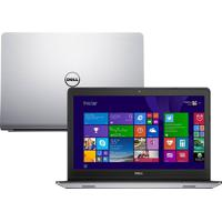 Notebook Dell Inspiron I15-5548-B20 - Prata - I7-5500U - Ram 8Gb - Hd 1Tb - Ssd 8Gb - Tela 15.6 - Windows 8.1