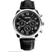 Relógio Skmei Analógico 9078 Preto