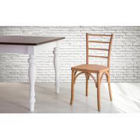 Cadeira De Madeira Torneada Com Encosto E Assento Anatômico Jatobá Charlotte - 40,5X49X88 Cm