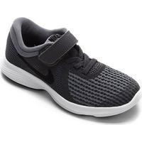 Tênis Infantil Nike Revolution 4 Masculino - Masculino-Cinza+Chumbo