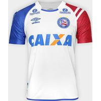 Camisa Bahia I 17/18 S/Nº C/ Patrocínio - Torcedor Umbro Masculina - Masculino