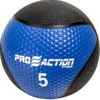 Medicine Ball 5 Kilos Proaction G193 Feita De Material Totalmente Emborrachado