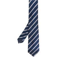 Emporio Armani Gravata Listrada - Azul