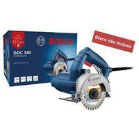 Serra Mármore Elétrica 220V 1500W Gdc 150 Standard Azul Bosch