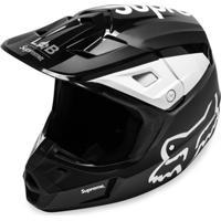Supreme Capacete Fox Racing V2 - Preto