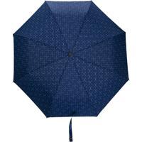 Moschino Guarda-Chuva Com Estampa Floral - Azul