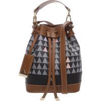 669f3dd09 Schutz; Bucket Bag Triangle Black | Schutz