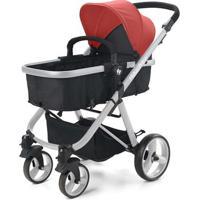 Carrinho De Bebê Hero Do Nascimento Até 15Kg Vermelho Fisher Price - Bb595 Bb595