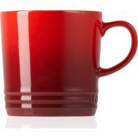 Caneca De Chá 350Ml Cerâmica - Le Creuset - Vermelho