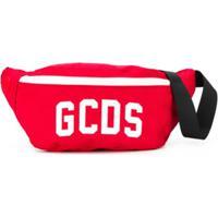 Gcds Kids Bolsa Com Estampa De Logo - Vermelho
