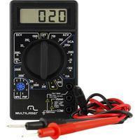 Multimetro Digital Multilaser Au325 Preto