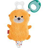 Fisher-Price Porta Chupeta Animais Sensoriais Lontra-Mattel - Tricae