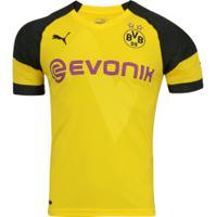 Camisa Borussia Dortmund I 18/19 Puma - Masculina - Amarelo