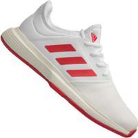 Tênis Adidas Gamecourt - Masculino - Branco/Vermelho