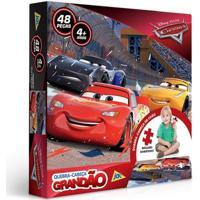 Quebra-Cabeça - Disney - Carros - 48 Peças - Toyster Toys2555