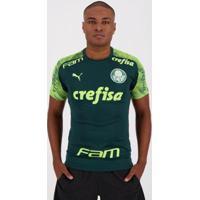 Camisa Puma Palmeiras Treino 2020 Masculina - Masculino-Verde
