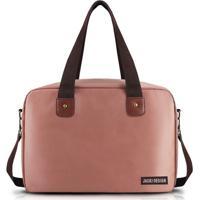 Bolsa Para Viagem Ou Academia Jacki Design - Unissex-Rosa