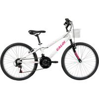 Bicicleta Aro 24 - 21 Marchas Ceci Branca - Caloi