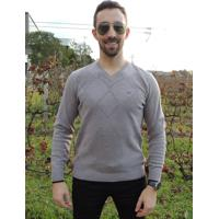 Suéter G'Dom Textura Geométrica Morengo