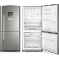 Refrigerador   Geladeira Electrolux Frost Free 2 Portas 598 Litros Inox - Db84X