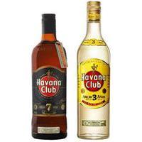 Kit Rum Havana Club Rum 7 Anos 750Ml + Rum Havana Club Rum 3 Anos 750Ml Kit251