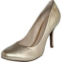 Sapato Feminino Capodarte - Feminino-Dourado