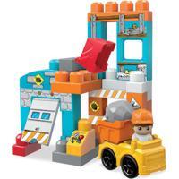 Mega Blocks - Spin And Play - Castelo E Block Buddy Com Carrinho - Mattel
