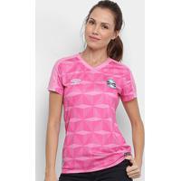 Camisa Grêmio Outubro Rosa 19/20 S/N° Umbro Feminina - Feminino