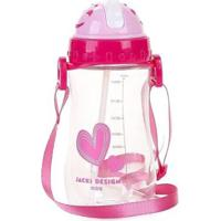 Garrafa Infantil Jacki Design Coração Feminina - Feminino-Pink