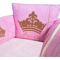 Berço Portátil Padroeira Baby Princesa Luxo Rosa