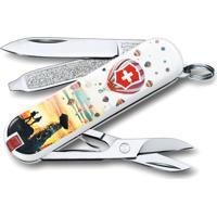 Canivete Classic Capadócia- Inox & Laranja- 5,8Cm