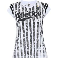 Camiseta Do Atlético-Mg Player - Feminina - Branco