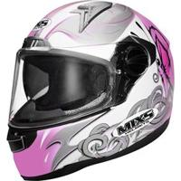 Capacete Mixs Butterfly - Pink