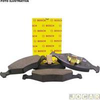 Pastilha Do Freio - Bosch - C3 2003 Em Diante/C4 2005 Em Diante - 8V/16V - (Girling) - Dianteiro - Jogo - Pb-600-0986Bb0600