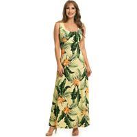 Vestido Florido Longo