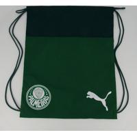 Bolsa De Ginástica Puma Palmeiras Gymsack Verde