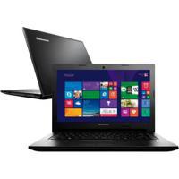 "Notebook Lenovo G400S-80Au0003Br - Intel Core I5-3230M - Ram 4Gb - Hd 500Gb - Touchscreen - Tela 14"" - Windows 8"