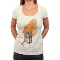 Ready To Start - Camiseta Clássica Feminina