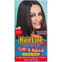 Creme Alisante Hair Life Solto E Natural Kit