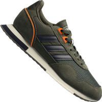 Tênis Adidas 8K 2020 - Masculino - Cinza Esc/Azul Esc