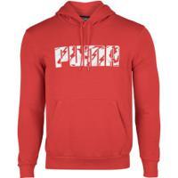 Blusão Com Capuz Puma Ka Hoody Tr - Masculino - Vermelho