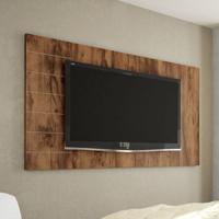Painel Para Tv 52 Polegadas Goya Jatobá 149 Cm