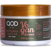 Máscara De Tratamento Qod City Vegan & More 280G - Feminino-Incolor